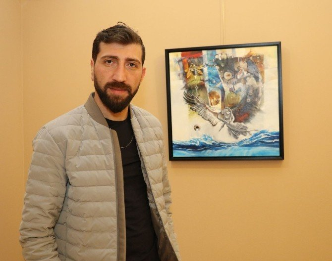 Ressam Suna, 7. Kişisel Sergisini MTSO'da Açtı
