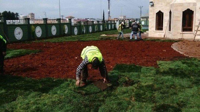 Reyhanlı Mezarlık Kompleksinin Peyzaj Ve Çevre Düzenlemesi Yapıldı