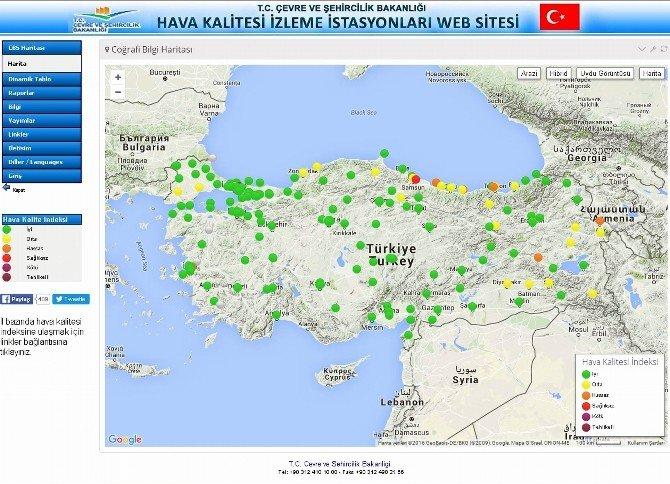 """Türkiye'de En Sağlıksız Havaya Sahip 2. İlçe """"Tekkeköy"""""""