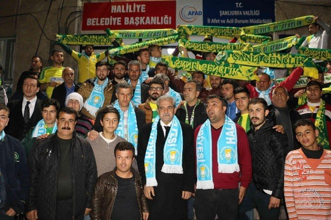 Haliliyye Belediyesinden Şanlıurfaspor Taraftarlarına Destek