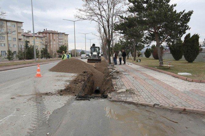 Sivas'a 12 Bin Metre Yağmur Suyu Hattı Yapılacak