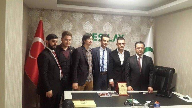 Saadet Partisi Yeşilay'ı Ziyaret Etti