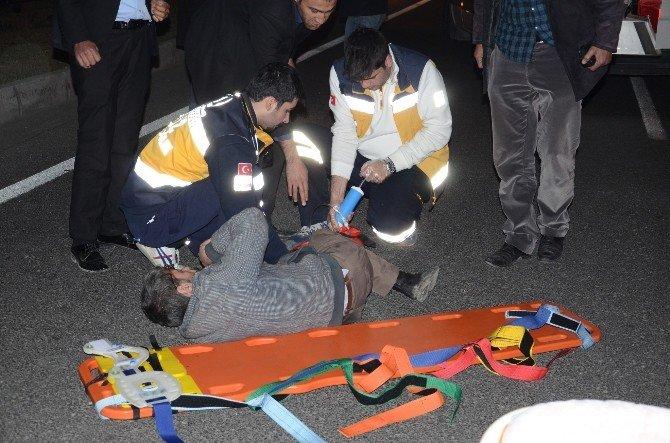 Çevreyolundaki Kazada: 1 Kişi Yaralandı