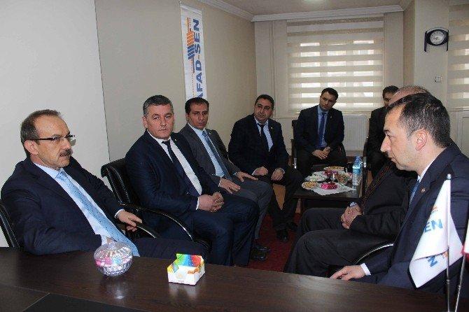Vali Yavuz STK Temsilcilerini Ziyarette Etti
