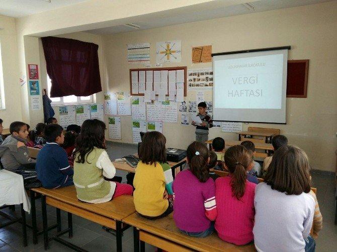 Öğrencilere Vergi Dersi