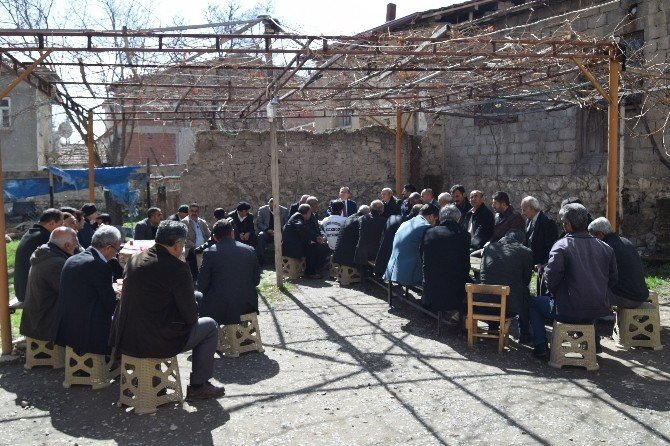 Başkan Kazgan, Vatandaşlarla Buluşmaya Devam Ediyor