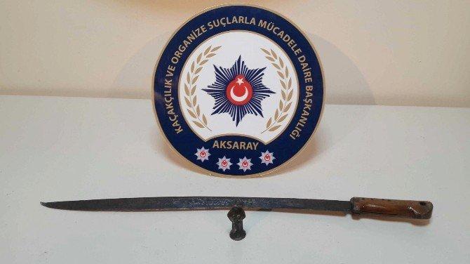Aksaray'da Tarihi Eser Operasyonu