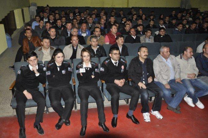 Aksaray'da Özel Güvenliklere Eğitim Semineri