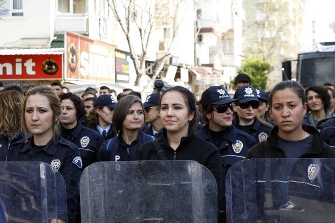 Feminist Eyleme, Kadın Çevik Önlemi