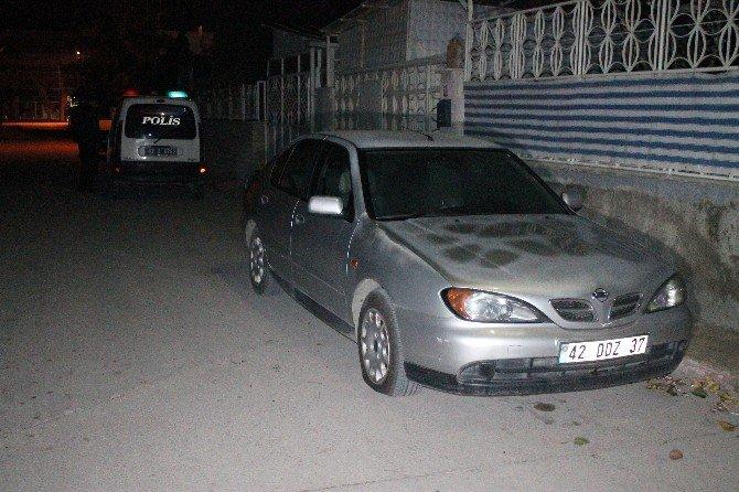 Konya'da 10 Aracın Lastikleri Kesildi