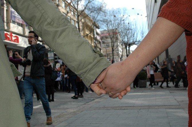 Başkent'te Dünya Kadınlar Günü Eylemi