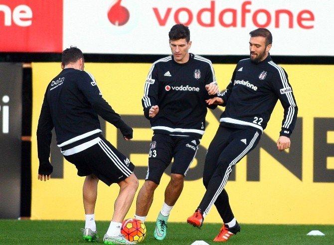Beşiktaş, Eskişehirspor Maçı Hazırlıklarını Tamamladı