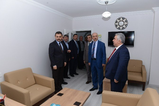 Başkan Külcü'den Diyanet Vakfı'na Ziyaret