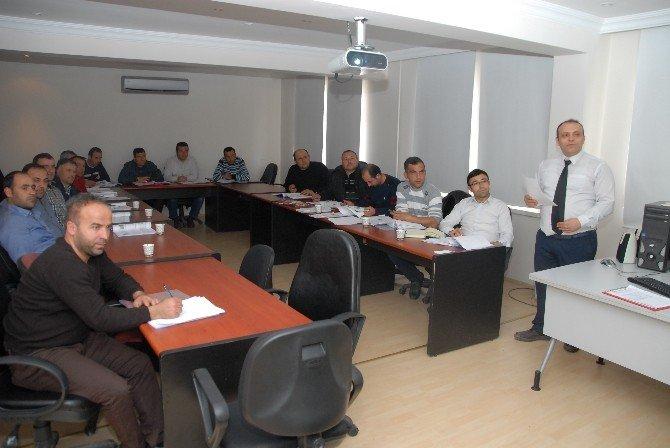 Çorum'da Belediye Personeline Biyosidal Eğitimi