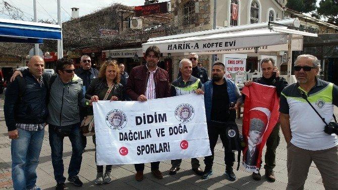 Didim Dağcılık Ve Doğa Spor Kulübü'nden Foça'ya Gezi