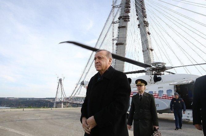 3. Köprünün Son Parçasının Kaynağını Devletin Zirvesi Yaptı