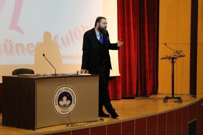'Ümmetin Ümidi: Türkiye' Konferansı Kırklareli'nde Gerçekleştirildi