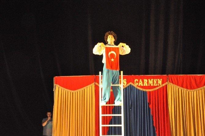 Carmen Sirki Nefes Kesti
