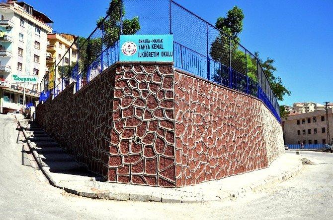 Mamak Belediyesi'nden Eğitime Güçlü Altyapı Desteği