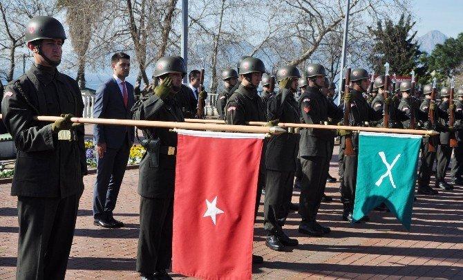 Atatürk'ün Antalya'ya Gelişinin 86'ncı Yılı Kutlandı