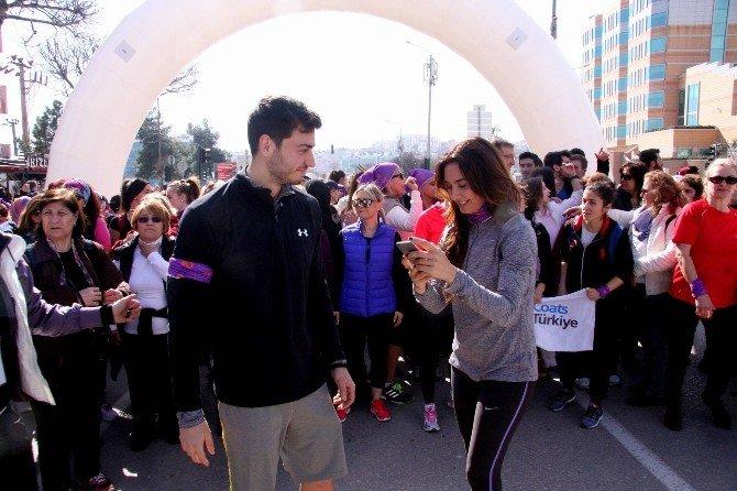 Nilüferli Kadınlardan 8 Mart Koşusu