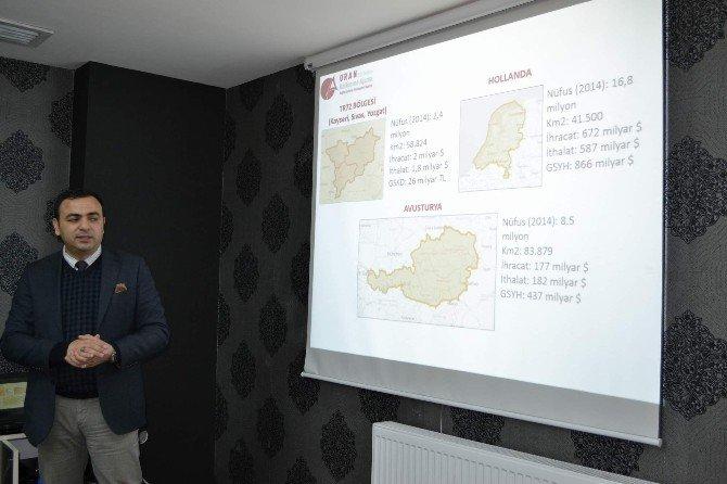 Oran Kalkınma Ajansı Yozgat'ta Bilgilendirme Toplantısı Düzenledi