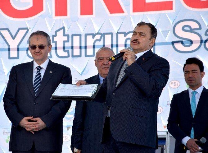 Bakan Eroğlu'ndan Cerattepe Açıklaması