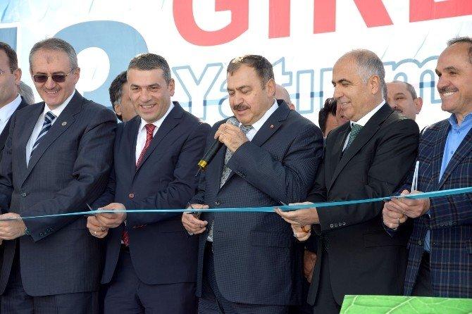 Bakan Eroğlu Giresun'da