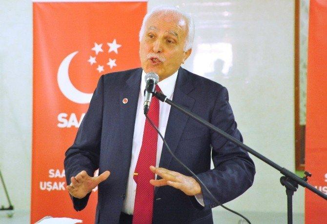 """Saadet Partisi Genel Başkanı Kamalak:""""biz Başkanlık Sistemine Karşı Değiliz"""""""