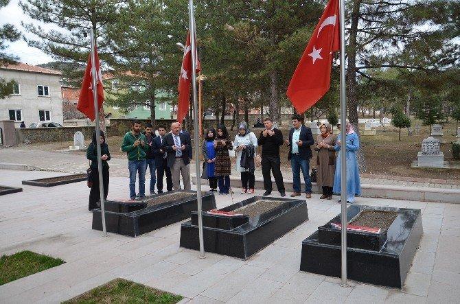 Osmancık Kyk'dan Şehit Ailelerine Ziyaret