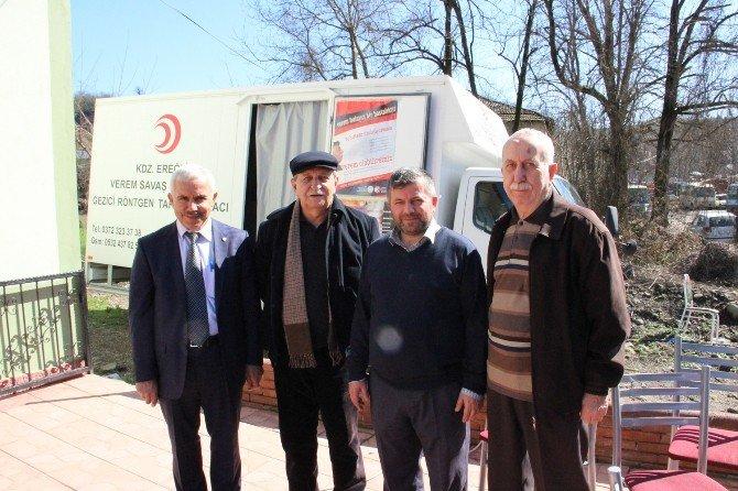 Vefat Eden Kardeşi Anısına Kan Bağışı Ve Verem Tarama Etkinliği Düzenledi