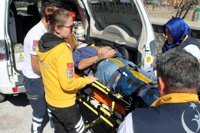 İniş Yapmak İsteyen Yamaç Paraşütçüsü Düşerek Yaralandı