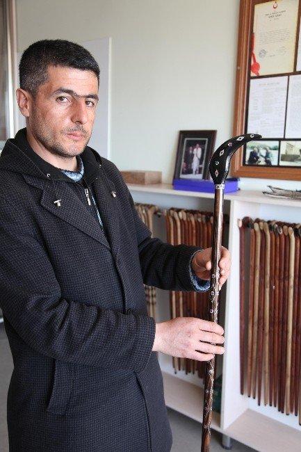 Türkiye'nin En Pahalı Bastonu Bitlis'te Yapıldı