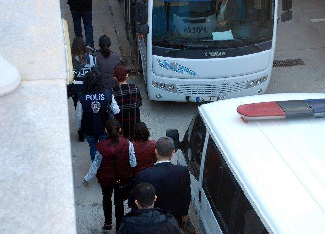 Terör Operasyonunda Yakalanan 11 Kişi Adliyeye Sevk Edildi