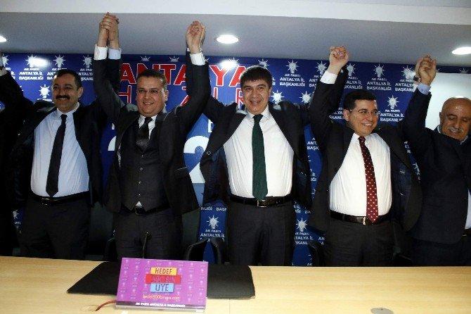AK Parti'de İltihak Töreni...
