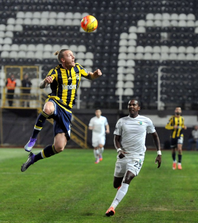 Akhisar Belediyespor: 0 - Fenerbahçe: 3