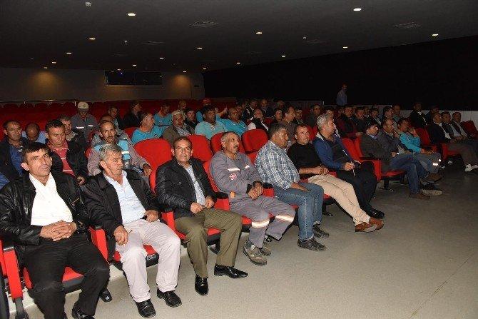 Alanya Belediye Personeline Eğitim