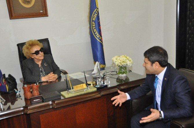 Bakan Yardımcısı Şahin'den Nüket Ersoy'a Ziyaret