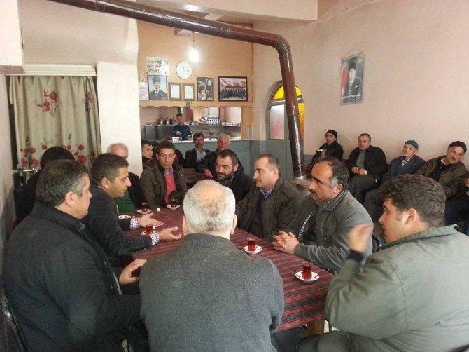Ulus Orman İşletme Müdürü Köylülerle Toplantı Yapıldı