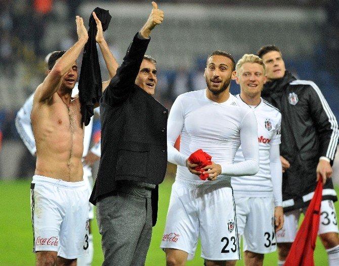Beşiktaş, Kritik Haftada 3 Puanı Kazandı