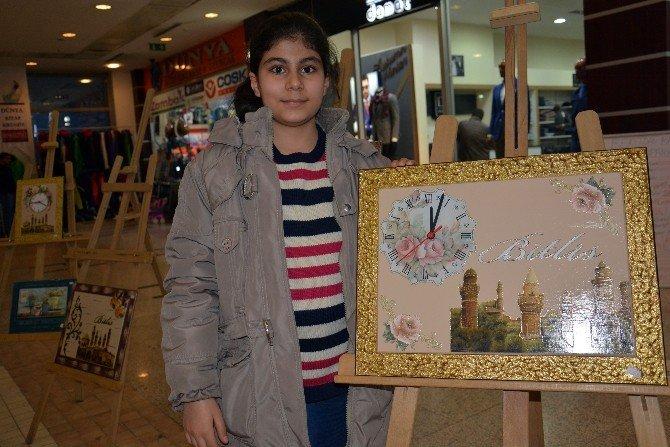Bitlisli Kadınlar Tatvan'da Sergi Açtı