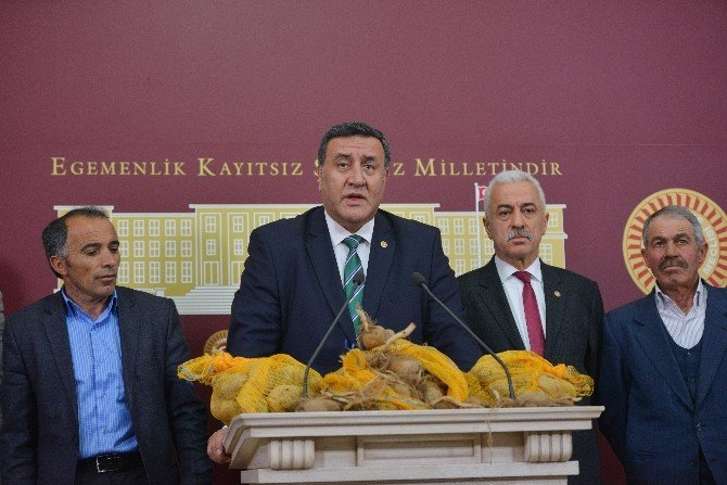 Mecliste Patatesli Basın Toplantısı