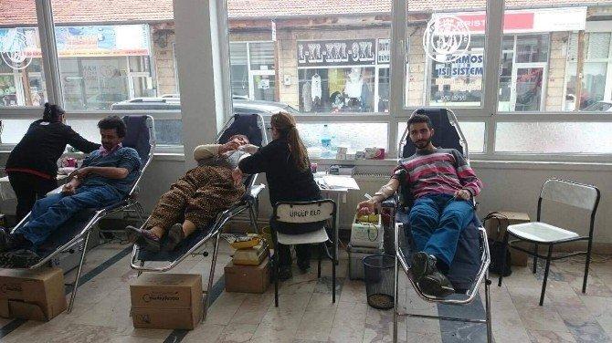 CHP Ürgüp İlçe Başkanlığı Kök Hücre Bağışında Bulundu