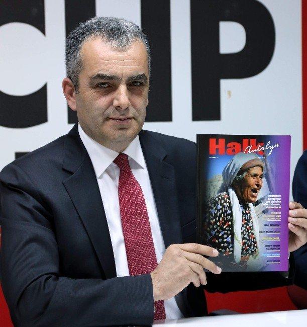 CHP Antalya'dan ' Halk Antalya Dergisi