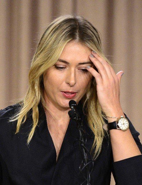 Sharapova'dan Şok Doping İtirafı