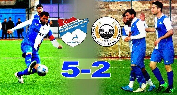 Ceylanpınar Belediye Spor 5-2 Siverek Gücü Spor