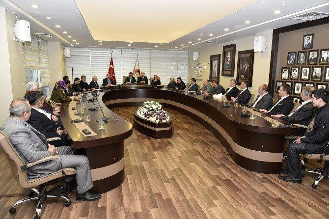 Gümüşhane Belediye Meclisi'nin Mart Ayı Toplantıları Başladı