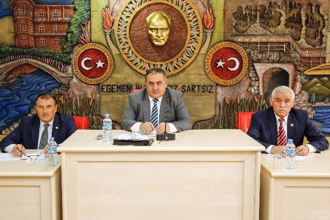 Gümüşhane İl Genel Meclisinin Mart Ayı Toplantıları Sona Erdi