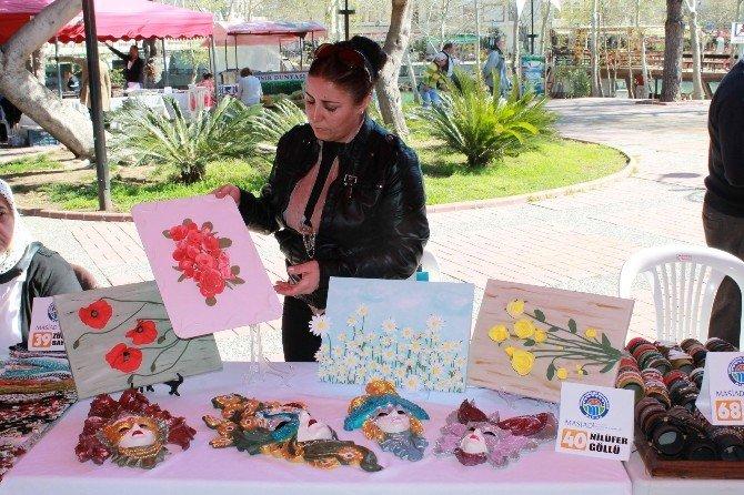 Manavgat'ta Potansiyel İş Kadınları Fuarı Açıldı