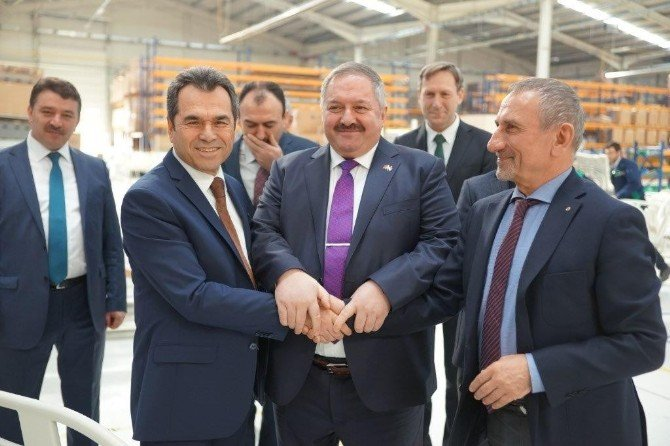 MEB Mesleki Ve Teknik Eğitim Genel Müdürü Osman Nuri Gülay, OSB Bölge Müdürlüğümüzü Ziyaret Etti